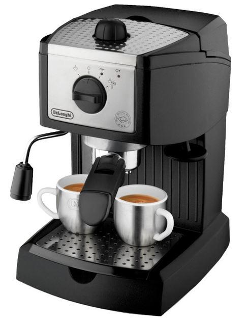 Рожковая кофеварка эспрессо delonghi (делонги) ec 155