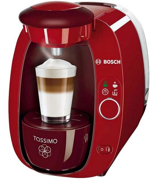 кофеварка капсульного типа bosch tas2005ee tassimo